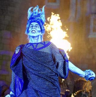 Hades steals the show in the Hocus Pocus Villains Spectacular