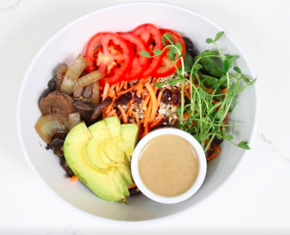 The Zen Bowl at Green Cup Café