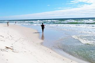 Walk in the sand journey Pensacola Beaches