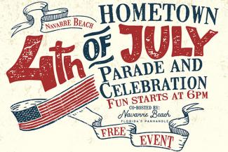 Navarre Beach Hometown 4th of July