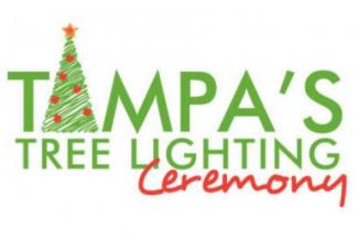 Tampa's Tree Lighting Ceremony