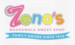 Zeno's Boardwalk Sweet Shop logo