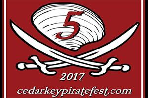 Cedar Key Pirate Invasion Weekend